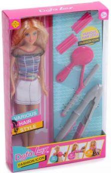 Кукла Defa Lucy Стилист,  5 аксесс., в ассорт.