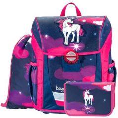 Ранец светоотражающие материалы Step by Step BaggyMax Niffty Unicorn Dream 18 л фиолетовый розовый