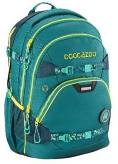 Рюкзак светоотражающие материалы Coocazoo e-ScaleRale TecCheck petrol бирюзовый
