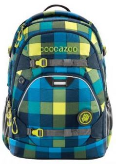 Рюкзак светоотражающие материалы Coocazoo ScaleRale Lime District 30 л бирюзовый синий