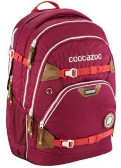 Рюкзак светоотражающие материалы Coocazoo ScaleRale Mixed Melange Bold Berry 30 л бордовый