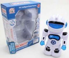 Игрушка Shantou Gepai Робот на радиоуправлении со звуком светящийся
