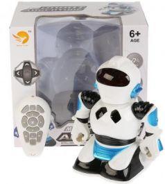 Игрушка Shantou Gepai Робот 27 см со звуком светящийся на радиоуправлении