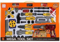 Игровой набор Shantou Строительные инструменты 46 предметов