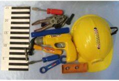 Игровой набор Shantou Строительные инструменты 16 предметов