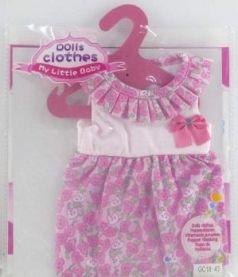 Одежда для кукол в пак. в кор.192шт
