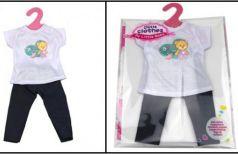 Одежда для кукол в пак. в кор.96шт