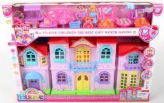 Дом для кукол, с фигурками и аксесс. 516A в кор. в кор.2*9шт