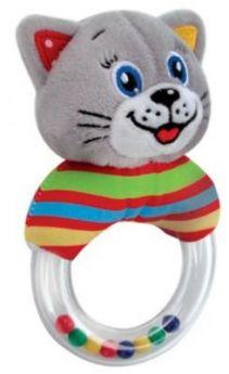 Погремушка на кольце УМКА «Котёнок»