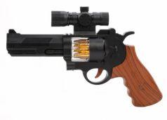 Оружие Наша Игрушка Пистолет черный коричневый