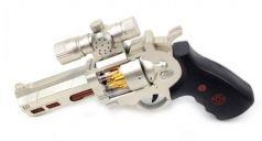 Оружие Наша Игрушка Пистолет серебристый черный