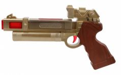 Оружие Наша Игрушка Пистолет бежевый коричневый