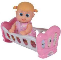 Игрушка Bouncin Babies Кукла Бони 16 см с кроваткой, дисплей