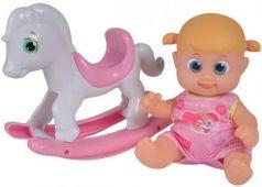 Игрушка Bouncin Babies Кукла Бони 16 см с лошадкой-качалкой, дисплей