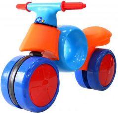 Беговел RT KINDER WAY оранжево-синий 11-004