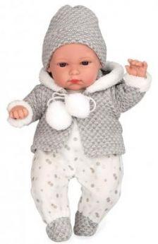 Кукла Arias Arias Elegance Кукла с мягким телом 33 см со звуком плачущая