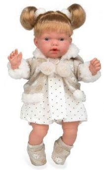 Кукла Arias Arias ELEGANCE Кукла с мягким телом 28 см со звуком смеющаяся