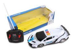 Машинка на радиоуправлении Наша Игрушка Полиция пластмасса от 3 лет белый