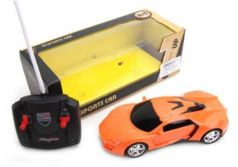 Машинка на радиоуправлении Наша Игрушка пластмасса от 3 лет оранжевый