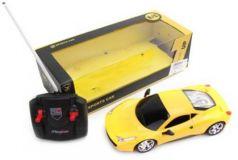 Машинка на радиоуправлении Наша Игрушка пластмасса от 3 лет желтый