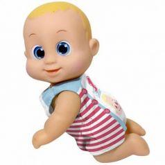 Кукла Bouncin Babies Кукла Баниэль ползущая 16 см ползает