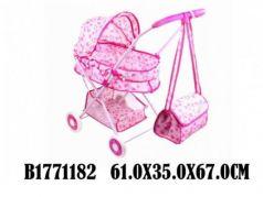 Коляска-люлька для кукол Shantou Коляска люлька