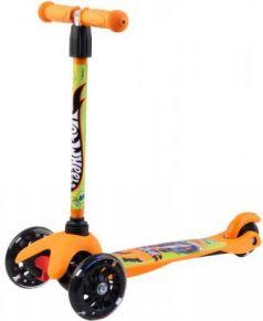 Самокат Hot Wheels (Mattel) HW4PY1 120/80 мм оранжевый