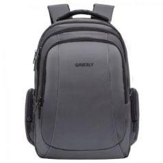 Рюкзак с отделением для ноутбука GRIZZLY универсальный 20.5 л серый