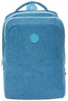 Рюкзак GRIZZLY универсальный, для девушек, Джинса, 26х39х17 см, RD-954-2/2