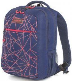 Рюкзак GRIZZLY универсальный, темно-синий, Лучи, 26х39х19 см, RU-933-1/3
