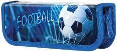 Пенал ЮНЛАНДИЯ, 1 отделение, ламинированный картон, 19х7 см, Футбол, 228247