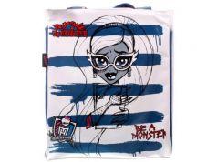 Сумка Monster High Be a Monster пляжная 1363 белый синий рисунок