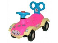 Каталка-машинка Molto Сабрина №2 розовый от 1 года пластик 9219