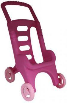Коляска Полесье для кукол Лили (в сеточке) розовая 43542