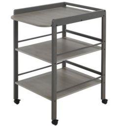 Стол для пеленания Geuther Clarissa (серый)