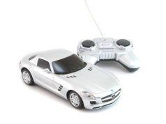 Машинка на радиоуправлении Welly Mercedes-Benz SLS AMG пластик от 3 лет серебристый 84002W