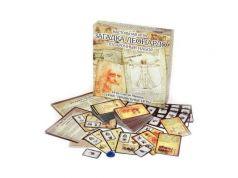 Настольная игра ПРАВИЛЬНЫЕ ИГРЫ карты Загадка леонардо. Подарочный набор 10-01-07