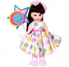 Кукла Madam Alexander Брюнетка с шариками 20 см 64491