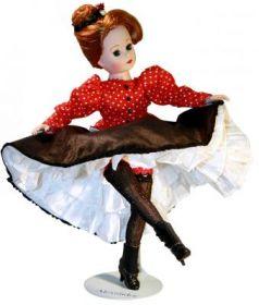 Кукла Madam Alexander Танцовщица Мулен Руж 25 см 64365