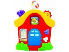 Интерактивная игрушка Kiddieland Домик от 1 года разноцветный KID 051466