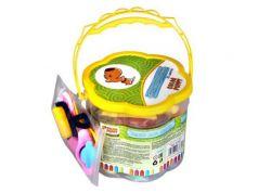 Тесто для лепки: 20 цветов, 560г, формочки, инструменты Color Puppy 63781