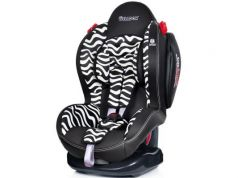 Автокресло Welldon New Smart Sport Side Armor & Cuddle Me (zebra)