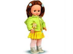 Кукла Весна Анна с собачкой 43 см говорящая В1171/о
