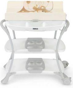 Стол пеленальный с ванночкой Cam Nuvola (цвет 219)