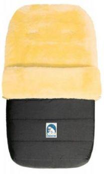 Конверт из овчины Heitmann Felle 968 Lambskin Cosy Toes (темно-серый)