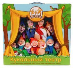 Игровой набор Жирафики Кукольный театр - Белоснежка от 3 лет 11 предметов 68352