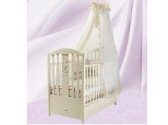 Кроватка с маятником Feretti FMS Ricordo (avorio)