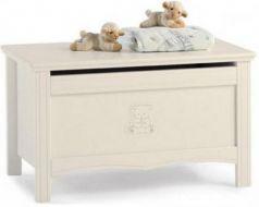 Ящик для игрушек Erbesi Jolie (слоновая кость)