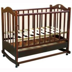 Кроватка-качалка Ведрус Лана 2 (вишня)