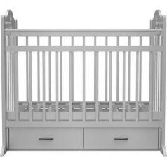 Кроватка с маятником Ведрус Лана 3 (белая)